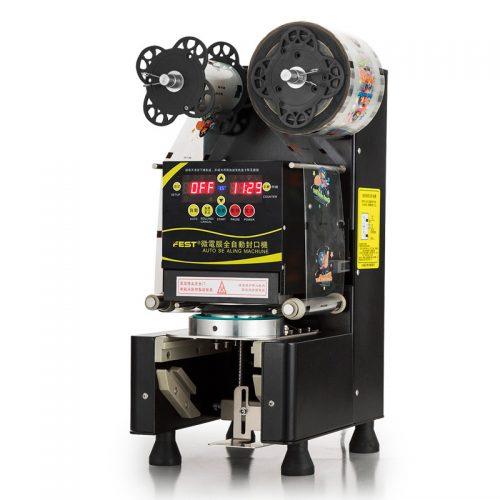 Cấu tạo máy dập nắp cốc trà sữa và những điều cần lưu ý khi sử dụng