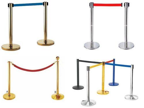 Bảng báo giá cột chắn inox Hà Nội dây chùng và dây căng từ 2m – 5m