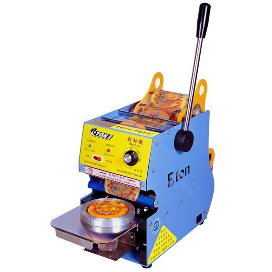 Hướng dẫn cách sử dụng máy dập nắp cốc Eton đúng kỹ thuật